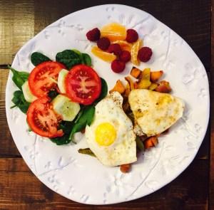 Day 17 breakfast