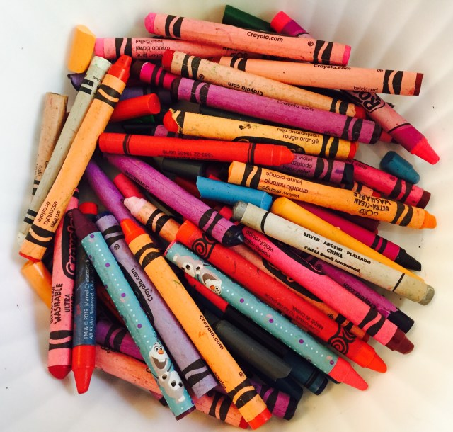 Crayons for Melted Hearts