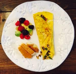 Day 26 breakfast