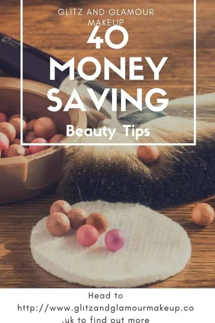 40 money saving beauty tips