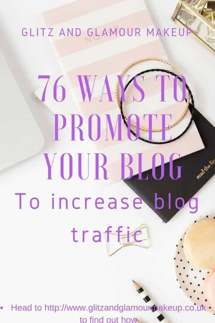 76 ways to promote your blog and increase web traffic