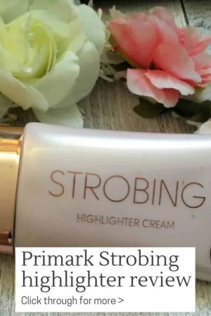 primark makeup strobing highlighter review