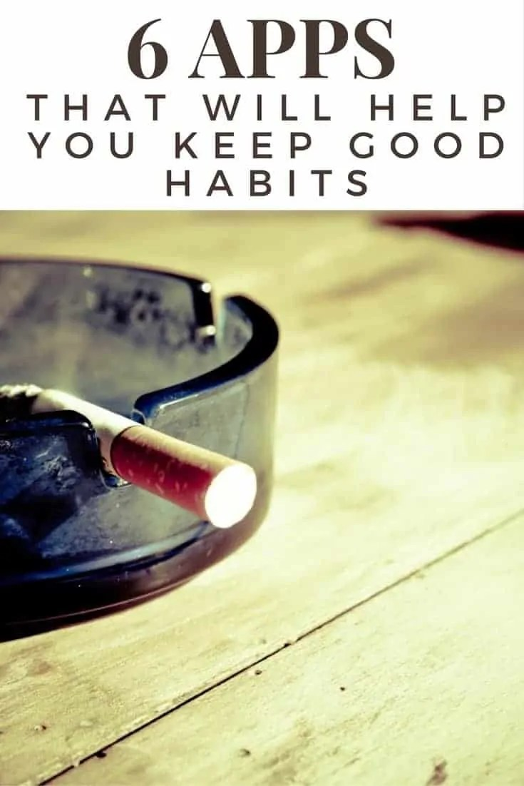 6 apps that will help you keep good habits