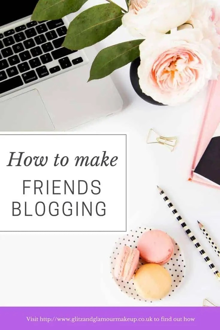 how to make friends blogging