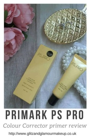 primark makeup ps pro colour corrector primer review (1)