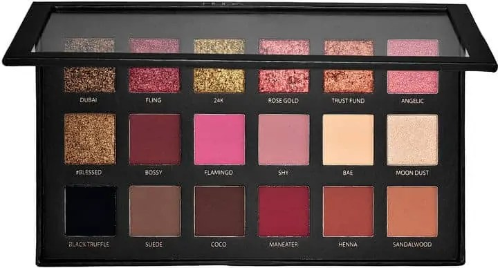 the ultimate gold eyeshadows that you need in your life huda rose gold eyeshadow palette