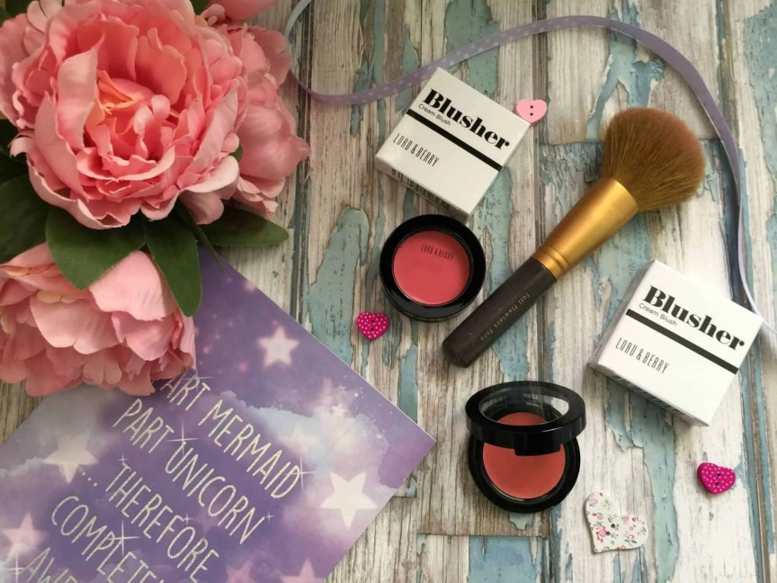 get a natural glow with lord and berry cream blushers