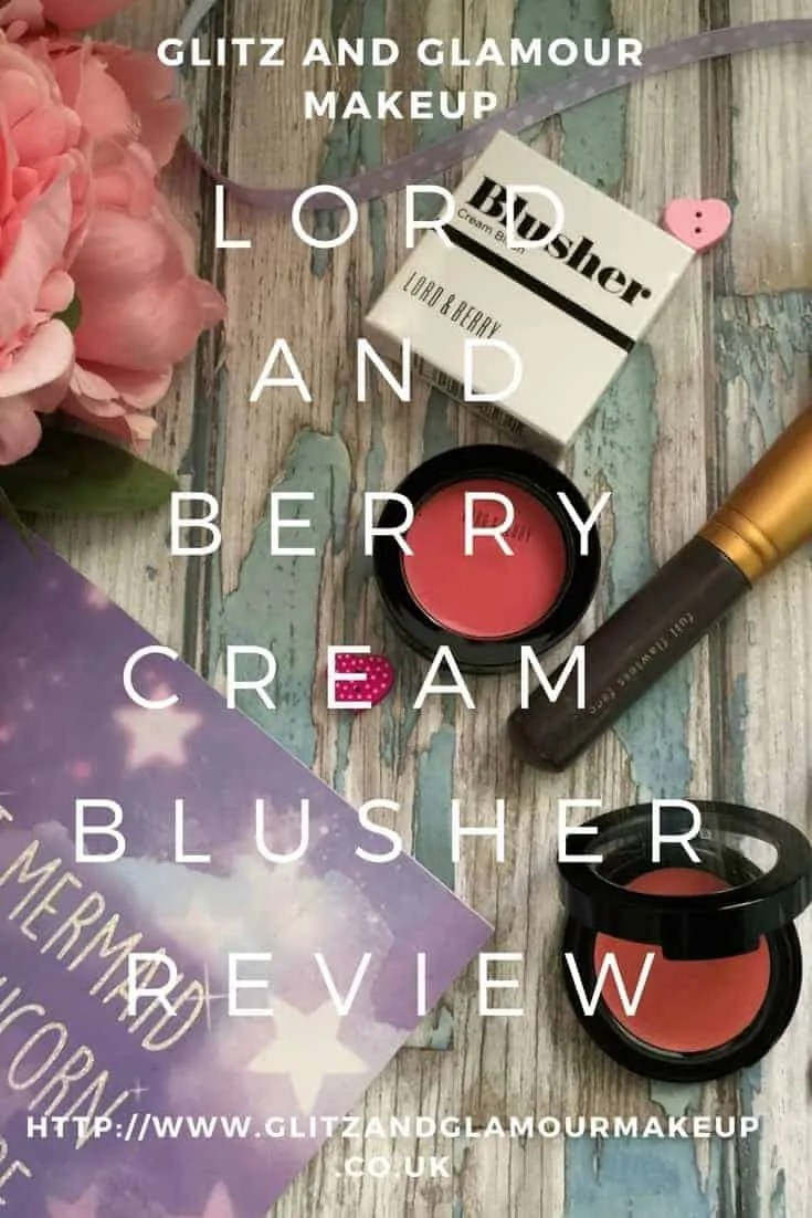 lord and berry cream blusher review