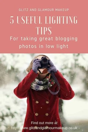 5 useful lighting tips for taking great blogging photos in low light