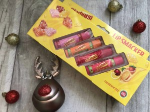 Last minute budget friendly Secret Santa gifts for her from B&M starburst lip smackers