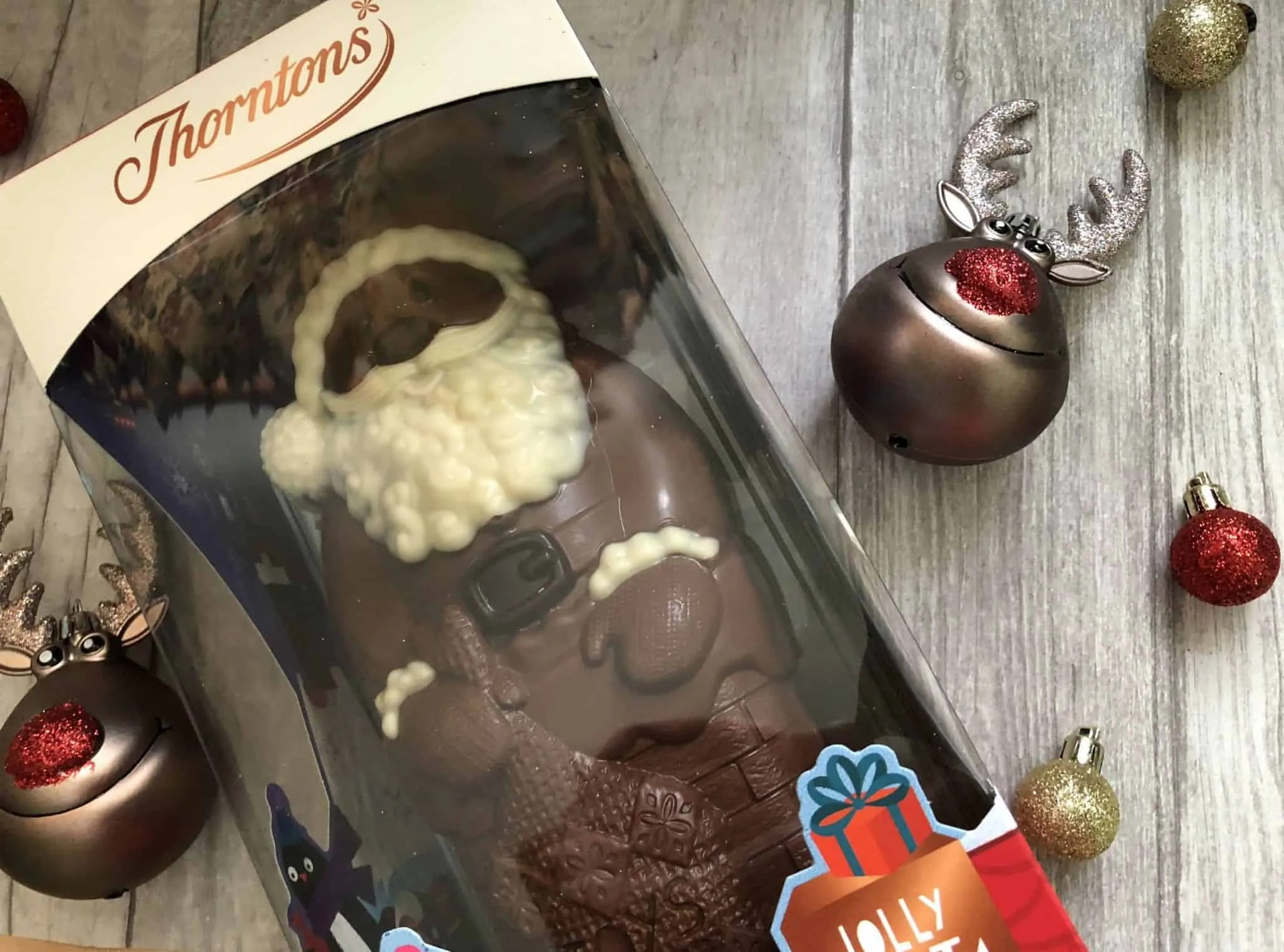 Last minute budget friendly Secret Santa gifts for her from B&M thorntons chocolate santa