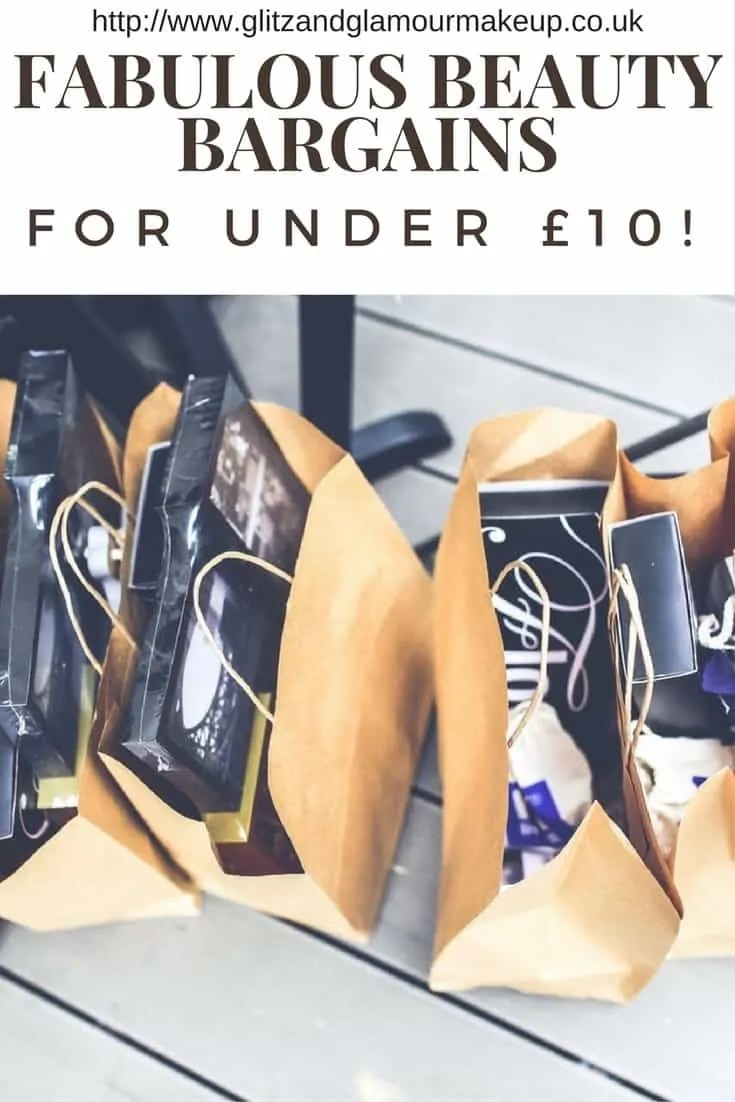 fabulous beauty bargains for under £10!