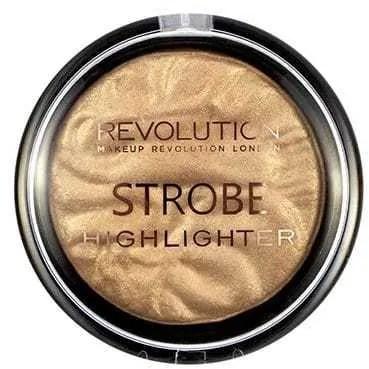 fabulous beauty bargains for under £10 makeup revolution strobe highlighter in gold addict