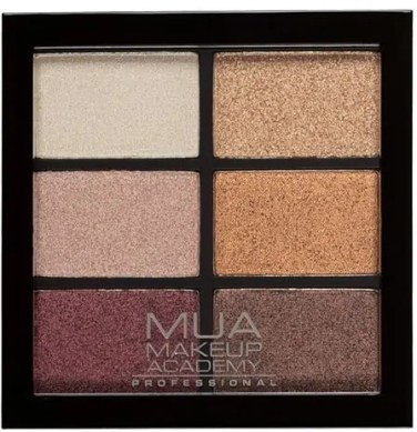 fabulous beauty bargains for under £10 mua professional 6 shade palette rusted wonders