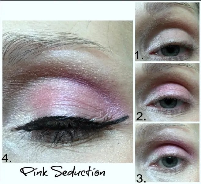 maybelline city kits urban lights pink seduction look