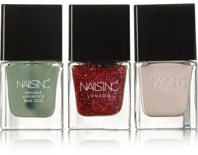 some of the best beauty stocking fillers nails inc peace love kale set