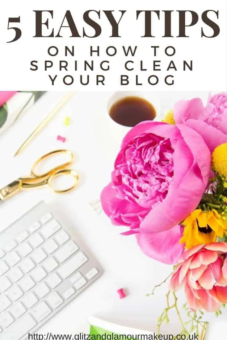 5 blog spring cleaning tips