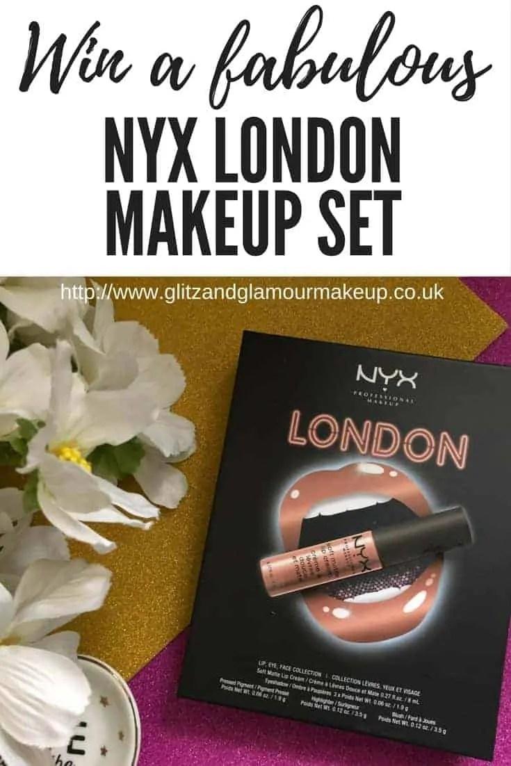Win a fabulous nyx london makeup set