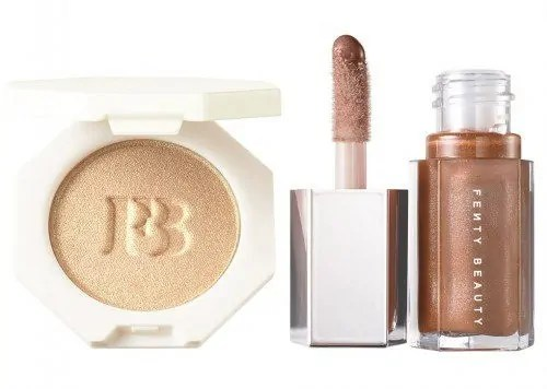 the ultimate valentines day 2018 beauty gift guide fenty beauty bomb baby mini lip and face set