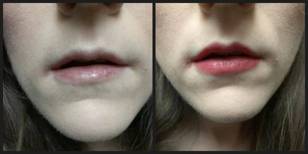 7 days of lipstick loreal infallible lipstick oops i pink it again before and after