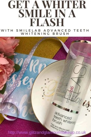 get a whiter smile in a flash with smilelab advanced teeth whitening brush