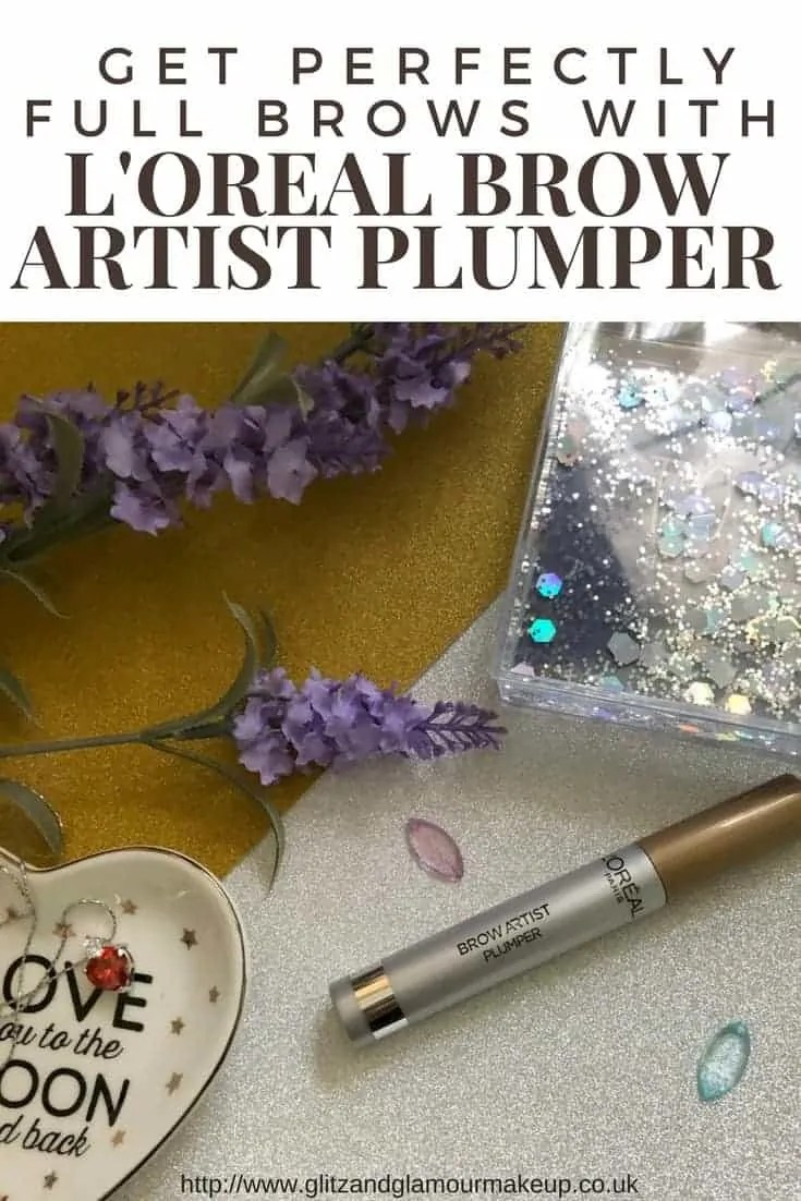 get perfectly full brows with l'oreal brow artist plumper