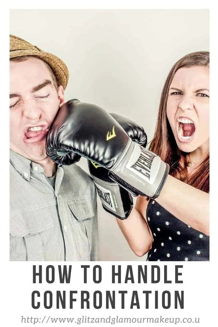 how to handle confrontation