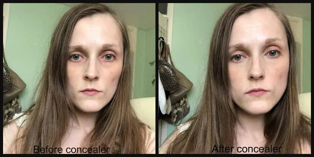 klairs concealer natural before and after
