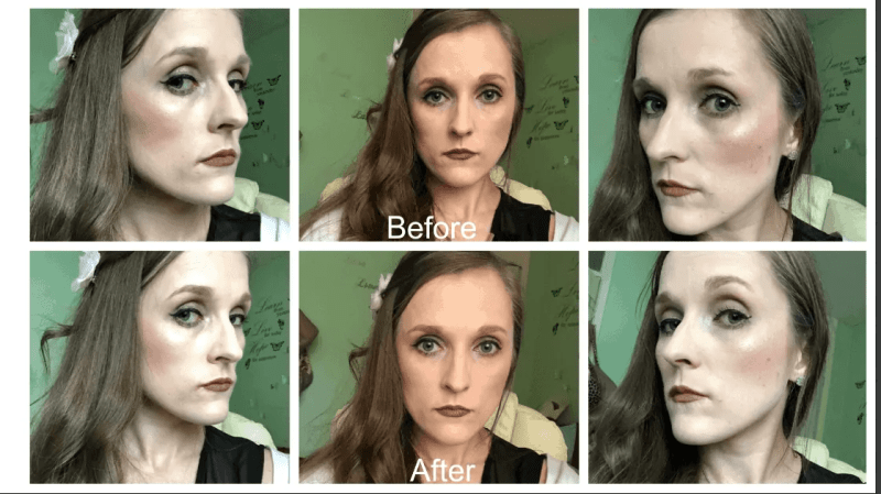 l'oreal brow artist plumper before and after