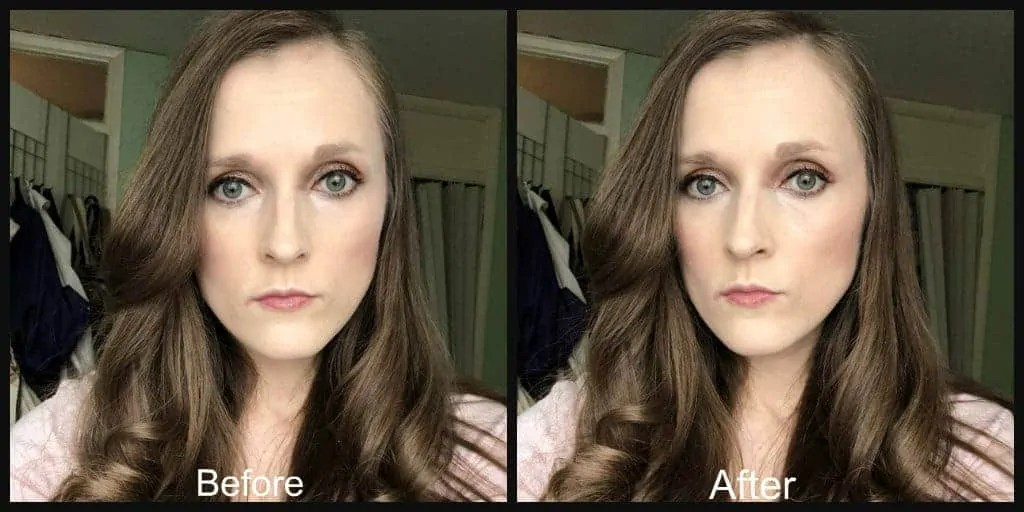 primark chocolate highlighter before and after