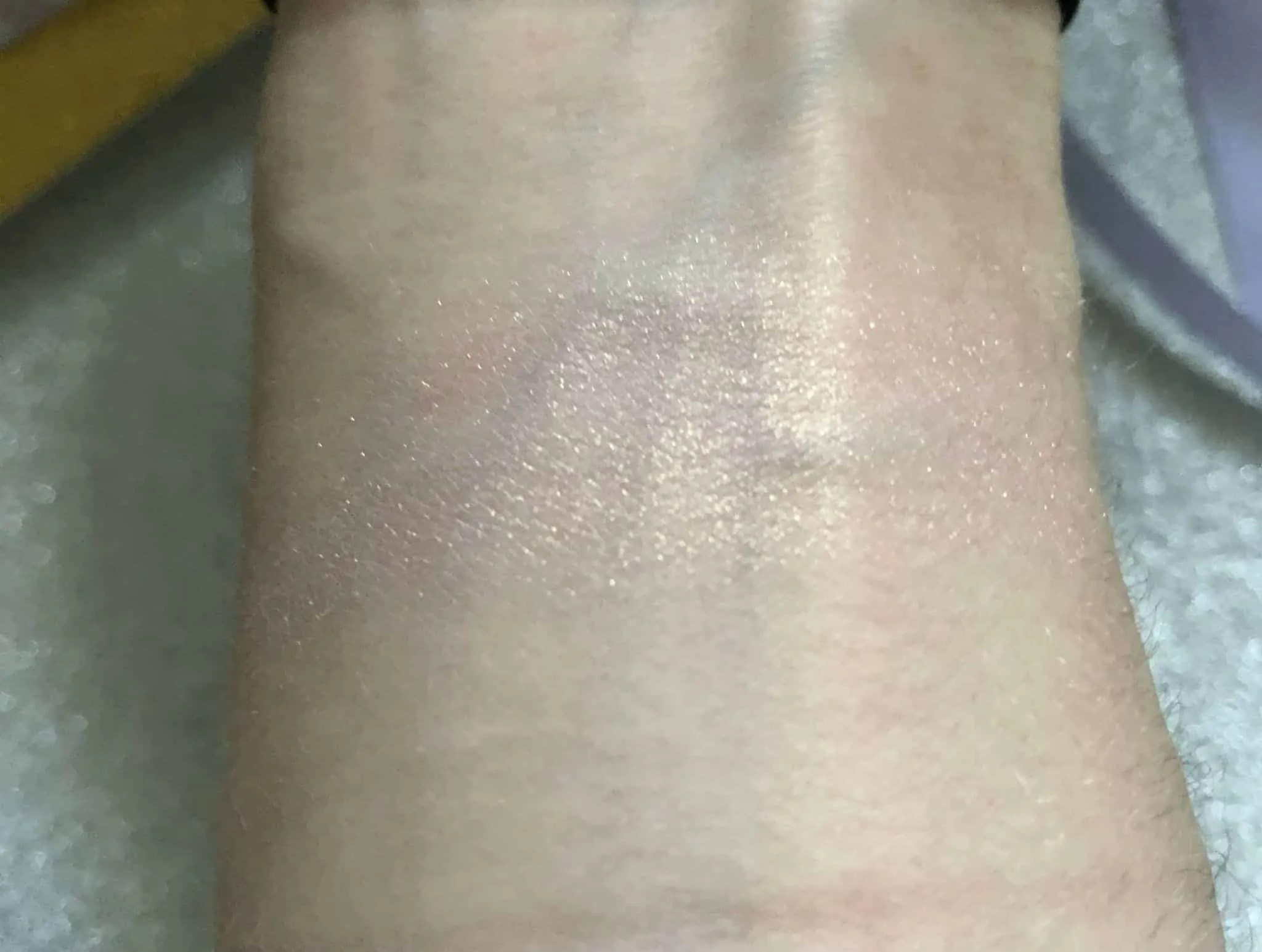 primark ps chocolate highlighter swatch