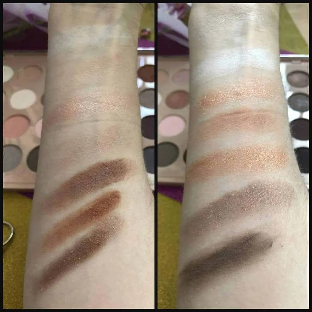 primark ps nudes eyeshadow palette swatches