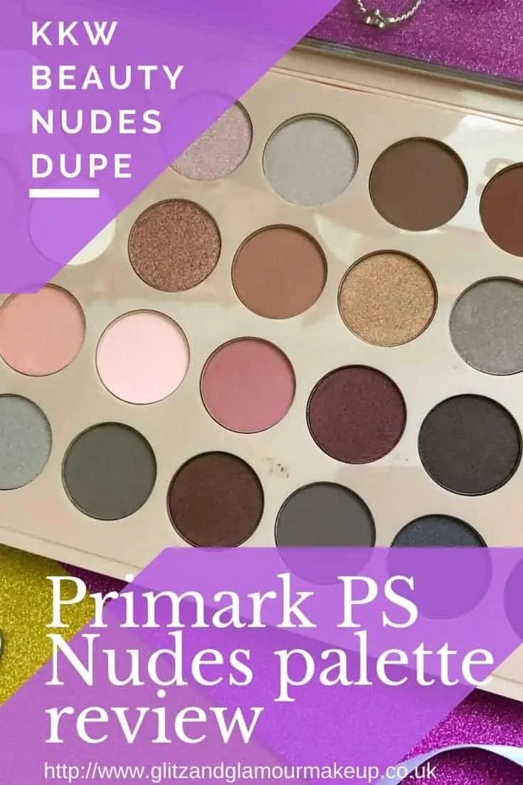 primark ps nudes palette review