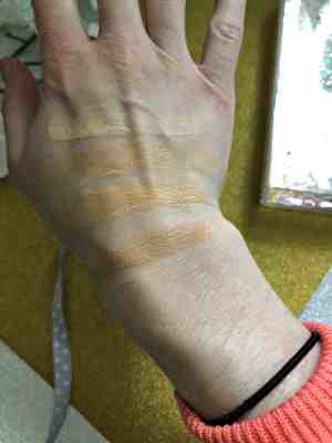 sleek vitality foundation swatch