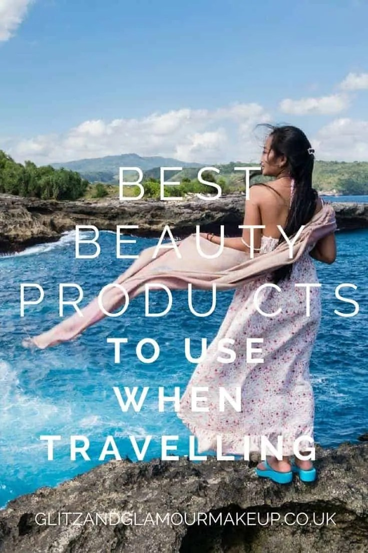 best travel beauty products to use when travelling