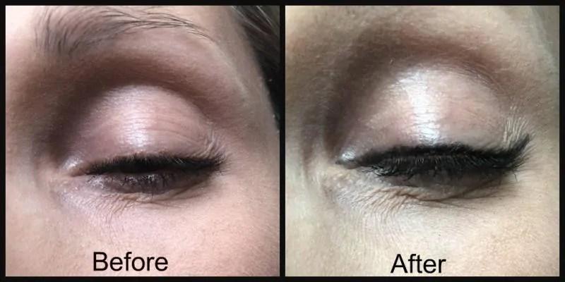 rimmel ultimate kohl kajal eyeliner before and after