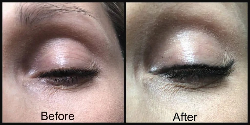 rimmel ultimate kohl kajal eyeliner before and after