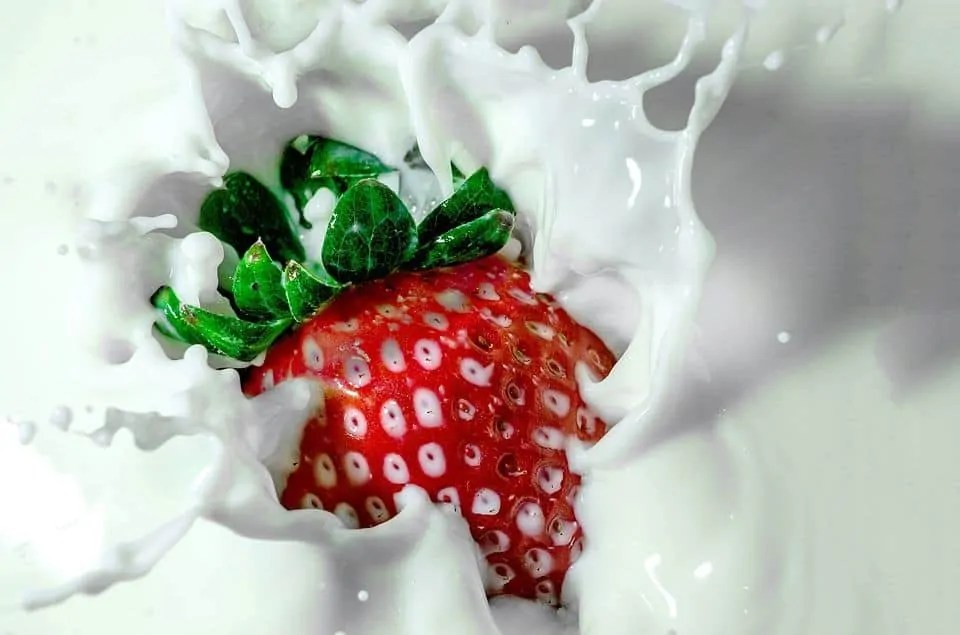 what foods can cause spots milk