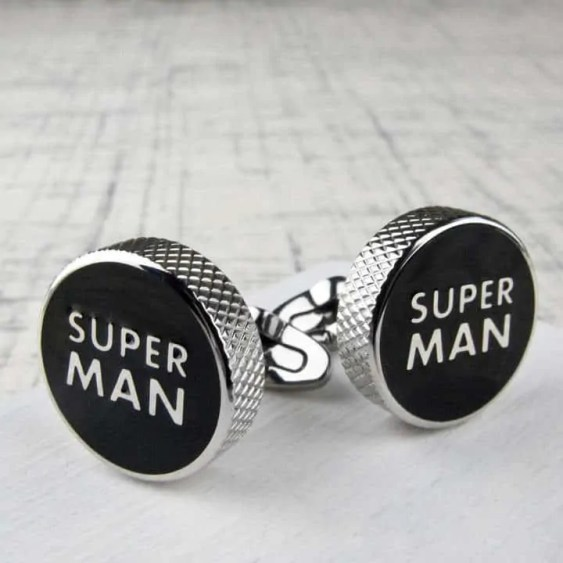 fathers day 2018 gift list tales from the earth stainless steel superman cuff links