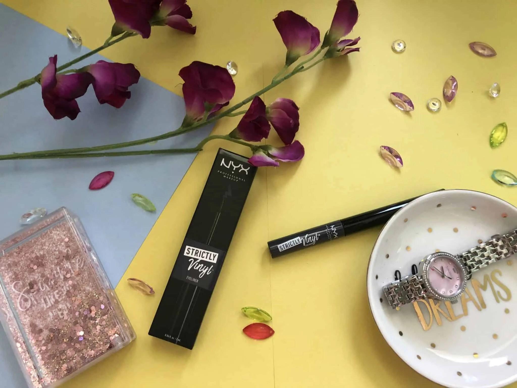 nyx strictly vinyl liquid eyeliner review