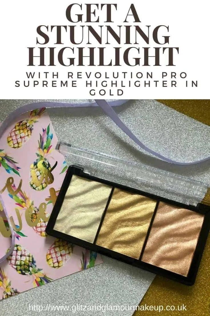 revolution pro supreme highlighter gold review