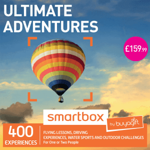 buyagift ultimate adventures smartbox