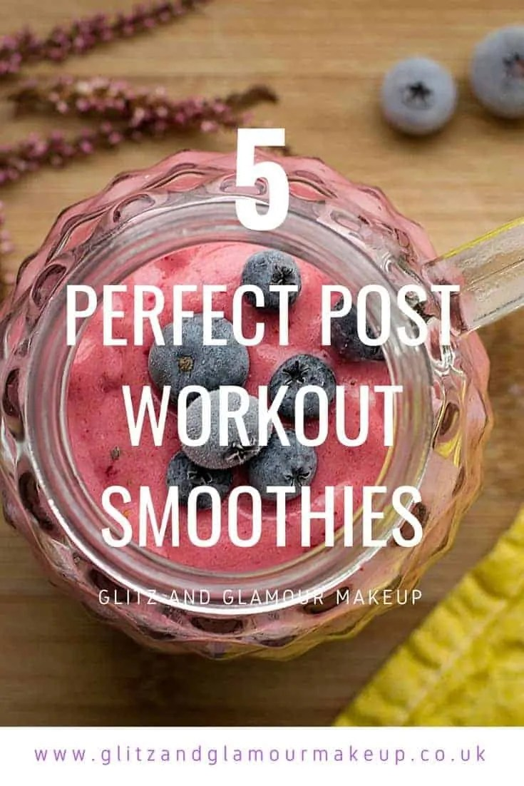 5 perfect post workout smoothies
