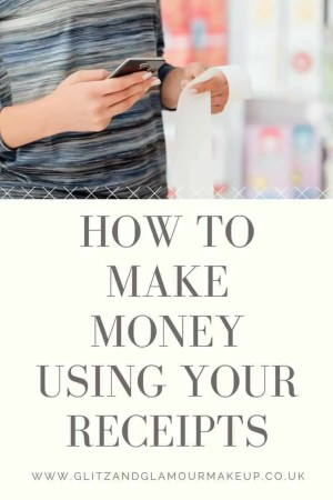 How to make money using your receipts