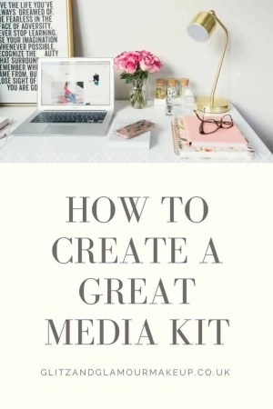 how to great a great media kit