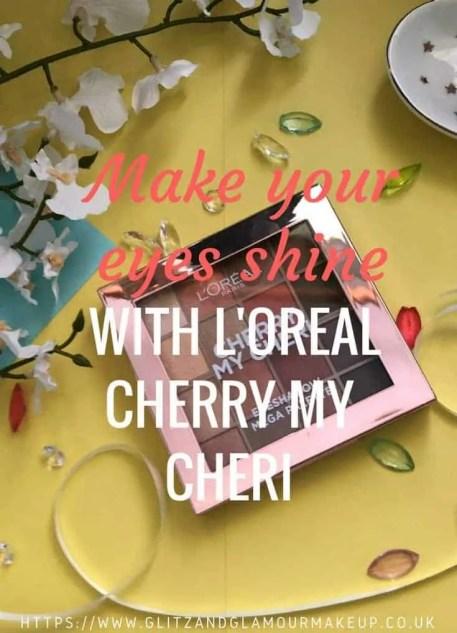 l'oreal cherry my cheri eyeshadow palette review