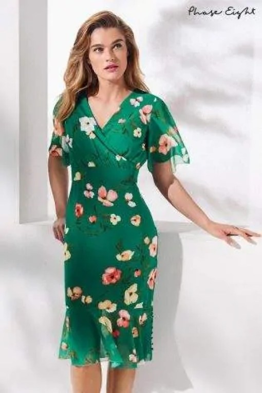 the best floaty dresses for summer phase eight jade hailey floral floaty sleeve dress