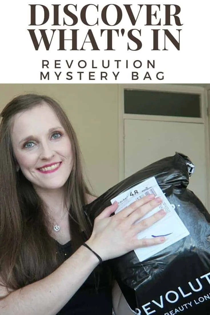 Revolution beauty mystery bag and makeup haul