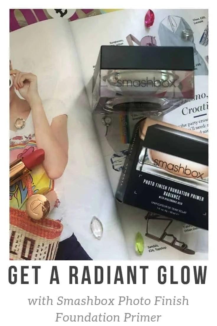 Get a radiant glow with smashbox photo finish foundation primer