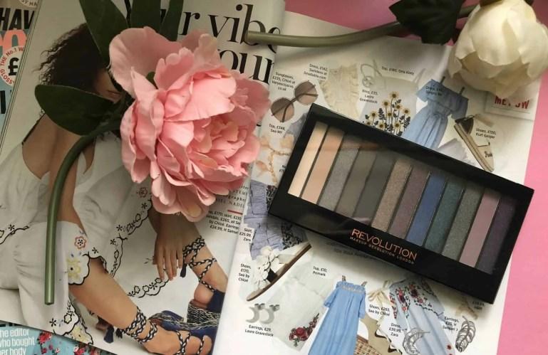 Makeup Revolution cosmetics massive makeup palette competition redemption palette hot smoked